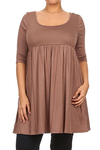 Pastel-by-Vivienne-Womens-Relaxed-Babydoll-Plus-Size-Dress-0-1