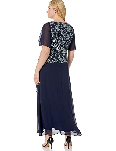 Brianna-Womens-Plus-Size-Sequin-Embroidered-Top-Tiered-Gown-0-1