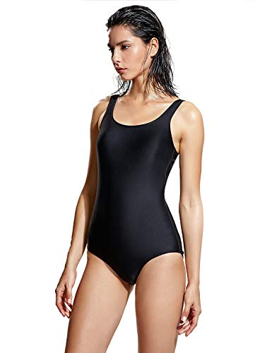 DELIMIRA-Womens-One-Piece-Swimsuit-Modest-Plus-Size-Bathing-Suit-0